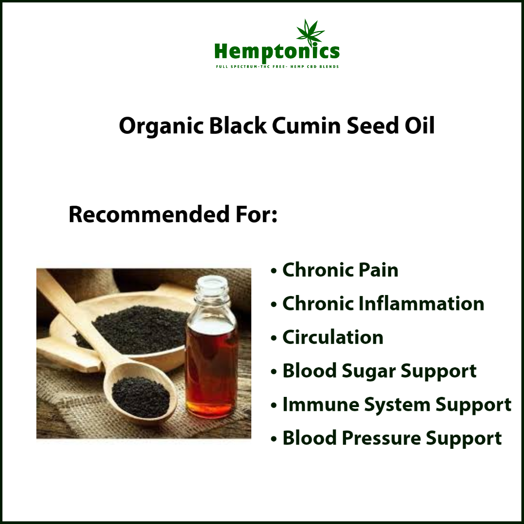Organic Black Cumin Oil Benefits