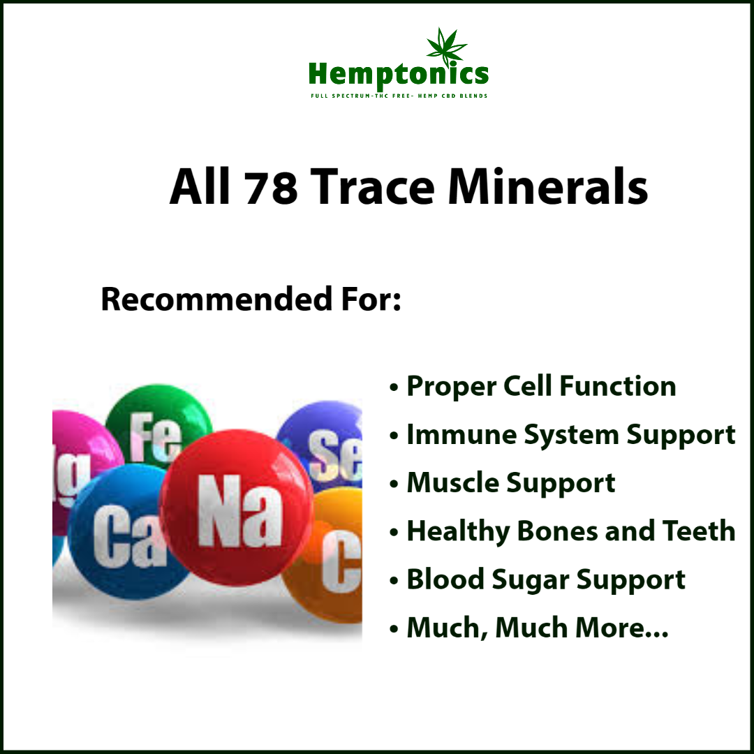 All 78 Trace Minerals